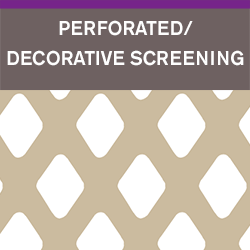 Neatrout : Perforated Decorative Screening